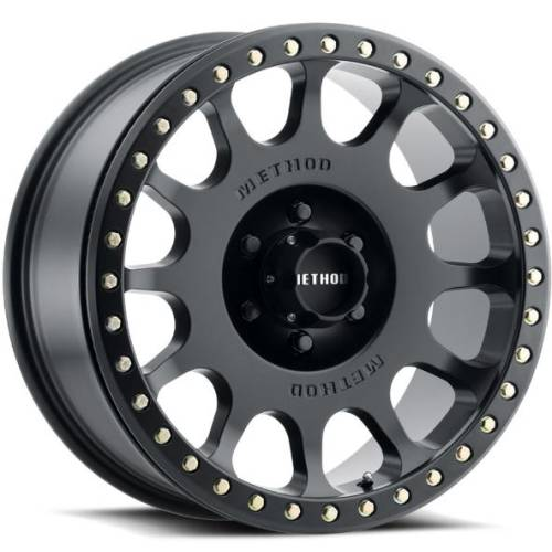 Method 105 Beadlock Matte Black Wheel