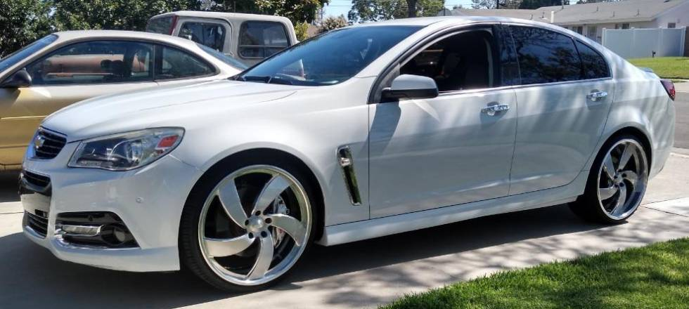 Pro Sicarrio on Chevy SS