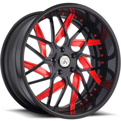 Asanti AF832 Black and Red
