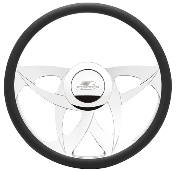 Billet Specialties TwinSpin Steering Wheel