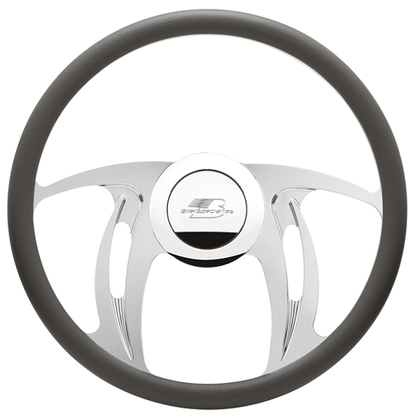 Billet Specialties Hurricane Steering Wheel