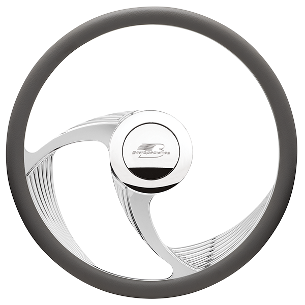 Billet Specialties Spyder II Steering Wheel