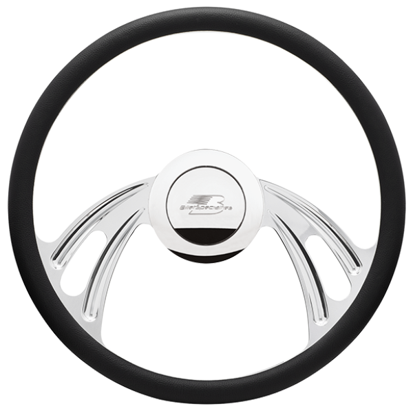 Billet Specialties Twister Steering Wheel