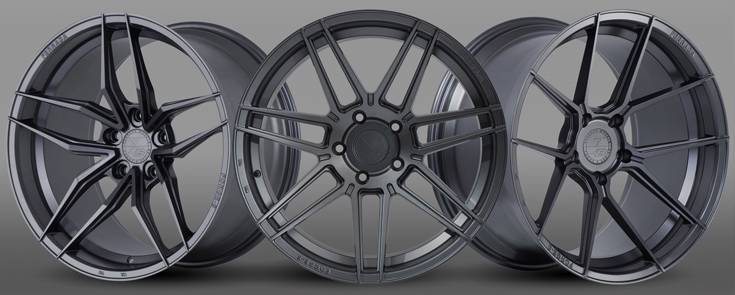 Ferrada Matte Graphite Forge8 Wheels