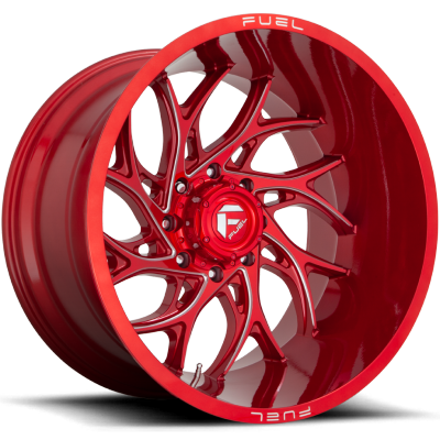 Fuel Runner D742 Candy Red Milled