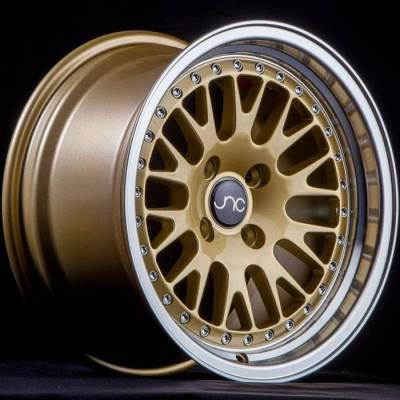 JNC001 Gold with Machined Lip