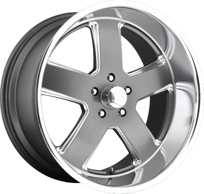 U.S. Mags U120 Roadster Matte Gunmetal Machined