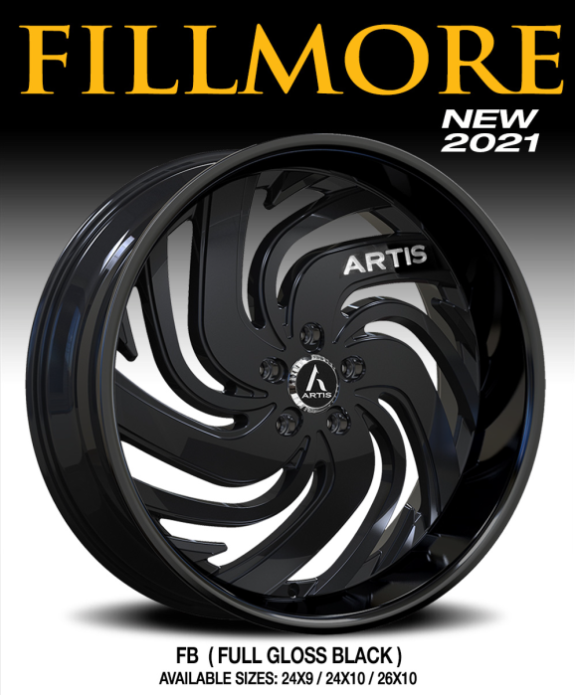 Artis Fillmore Full Gloss Black