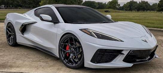 MRR F10 Forged Wheels on 2020 C8 Corvette 20x9 front / 21x12 rear
