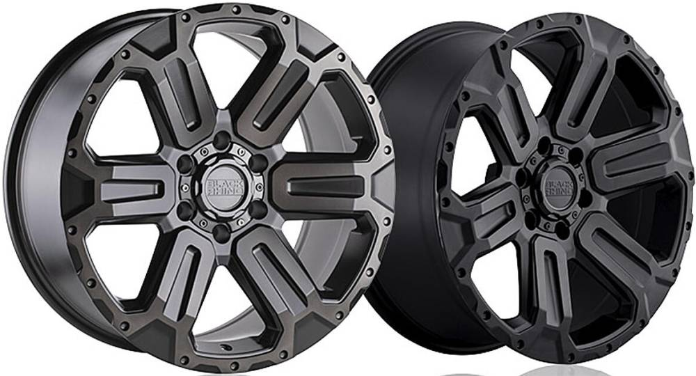 Black Rhino Wanaka Wheels