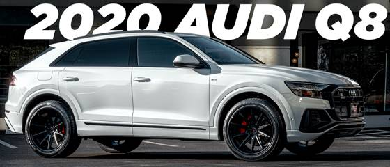 22x11 Ferrada CM2 Wheels on 2020 Audi Q8