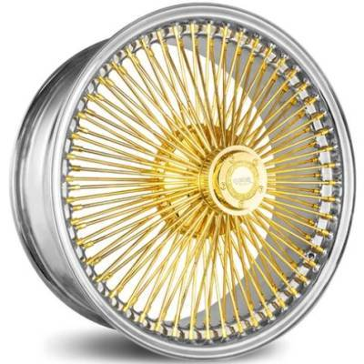 Luxor FWD 100-Spoke Straight Lace Gold