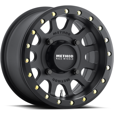 Method MR401 UTV Beadlock Wheels Matte Black