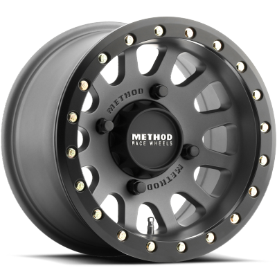 Method MR401 UTV Beadlock Wheels Titanium