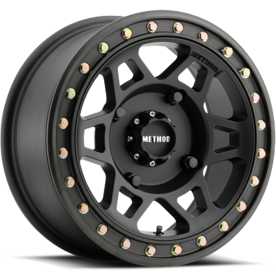 Method MR405 UTV Beadlock Wheels Matte Black