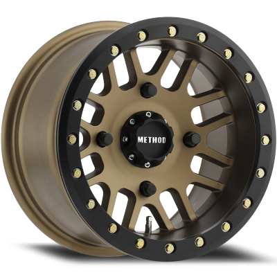 Method MR406 UTV Beadlock Wheels Bronze
