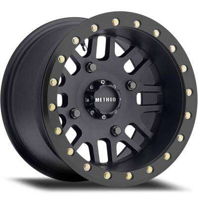 Method MR406 UTV Beadlock Wheels Matte Black