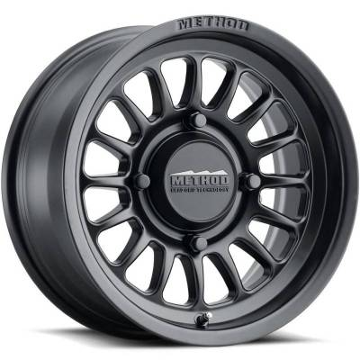 Method MR411 UTV Wheels Matte Black