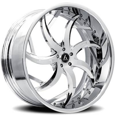 Artis Sin City Chrome Multi-Piece Luxury Custom Wheels