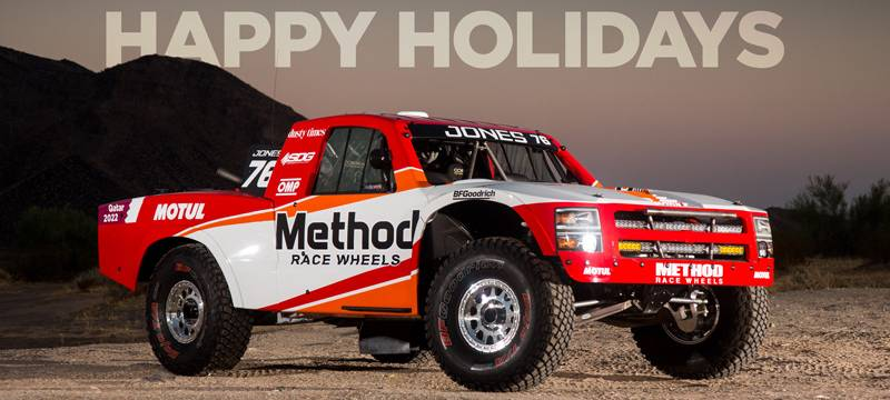 Happy Holidays with Method Race Wheels