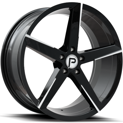 Pinnacle P212 Lethal Gloss Black with Machined Tips