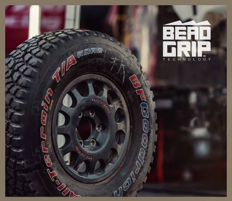 Bead Grip Technology by Method Race Wheels