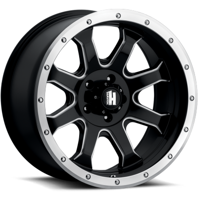 Havok Off-Road H105 Black Milled with Machined Edge
