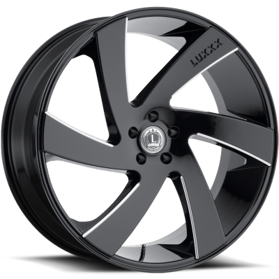 Luxxx LX-10 Gloss Black Milled