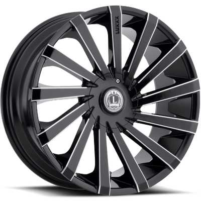 Luxxx LX-13 Gloss Black Milled