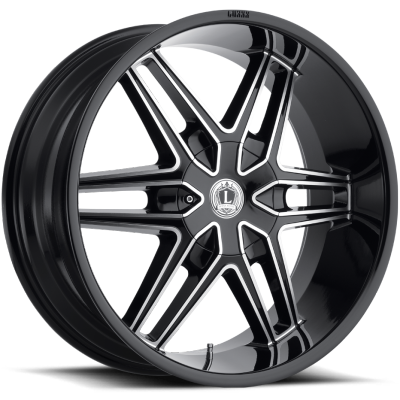 Luxxx LX-18 Gloss Black Milled