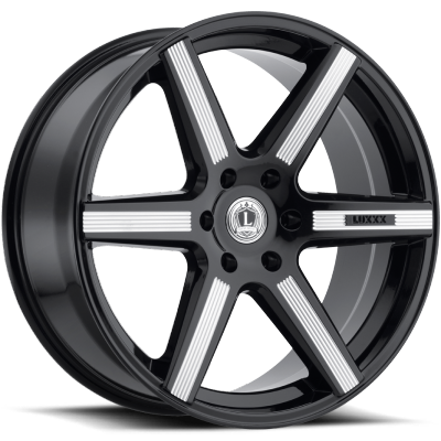 Luxxx LX-20 Gloss Black Milled