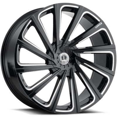 Luxxx LX-22 Gloss Black Milled