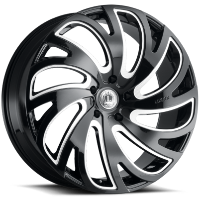 Luxxx LX-23 Gloss Black Milled