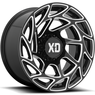XD Series Onslaught Gloss Black Milled