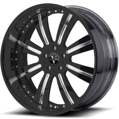 Vellano VTR Black with Chrome Accents