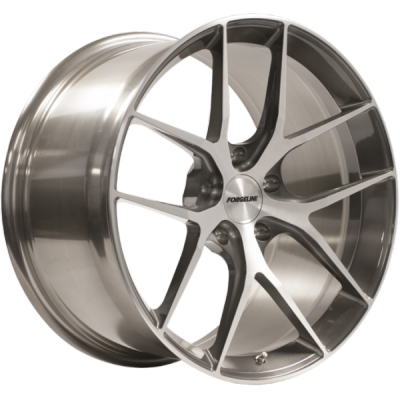 Forgeline VX1 Transparent Smoke with Brushed Face