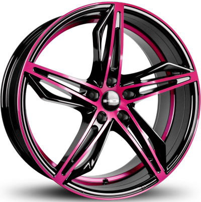 HD Fly Cutter Gloss Black and Pink