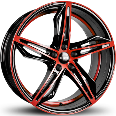 HD Fly Cutter Gloss Black and Red