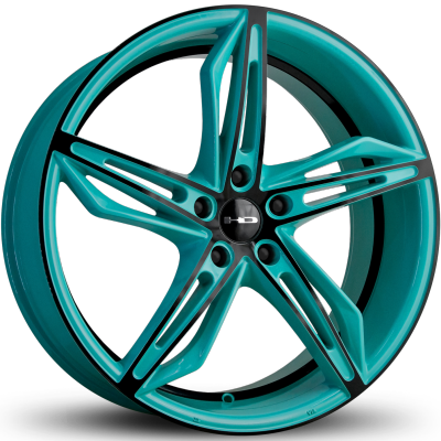 HD Fly Cutter Gloss Teal and Black