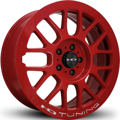 HD Gear Gloss Red Milled
