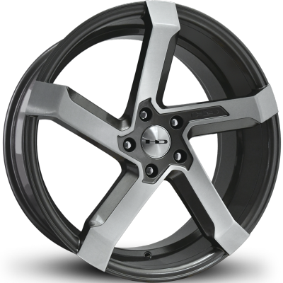HD Kink Gunmetal with Brushed Face