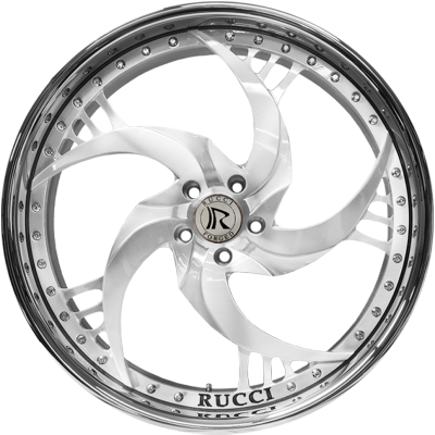 Rucci Fusions Brushed White