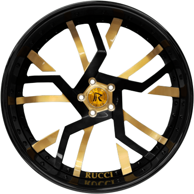 Rucci GOAT Black and Gold