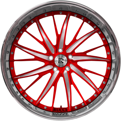 Rucci Milli Red and Silver