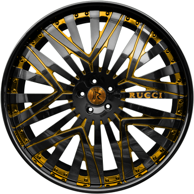 Rucci Priority Black and Gold
