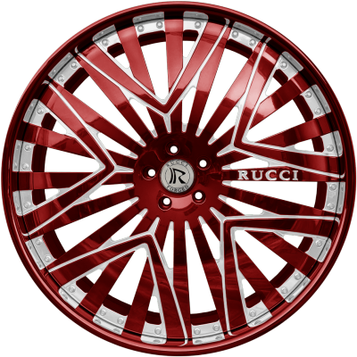 Rucci Priority Red and White