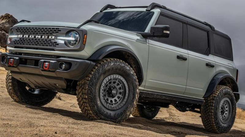 HD Venture Grey Wheels for Ford Bronco