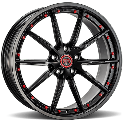 Revolution Racing RF1 Black with Red Rivits