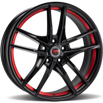 Revolution Racing RR25 Black with Red Inner Cut